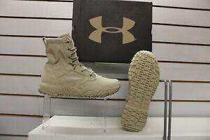 Under Armour UA Jungle Rat Desert Sand Suede / Nylon Combat /Army  Boots UK 9.5