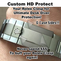 For Rolex Submariner HD CLR Protector Full Clasp+ Sides EBAY's RATED HIGHEST X2