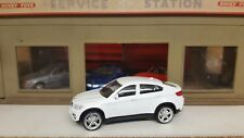 1/43 1:43 Diecast BMW X6 White RECORDED  DELIVERY