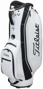 Titleist Simple Athlete Golf Caddy Bag CB191 White 9 type 47 inch compatible