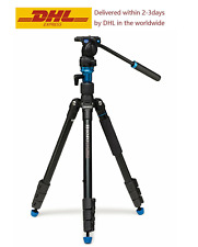 Benro Aero 2 A1883FS2C Travel Video Tripod Camera Tripod Converts To Monopod
