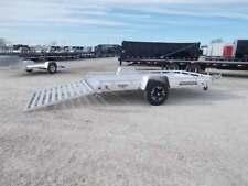 2021 Aluma 7712HSLR 12' ATV Aluminum Utility Trailer
