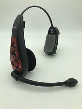 HME HS6000 RED Wireless Drive Thru Intercom Headset