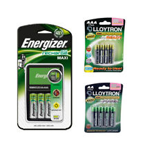 ENERGIZER MAXI CHARGER AA AND AAA ACCU RECHARGE & 12 RECHARGEABLE BATTERIES