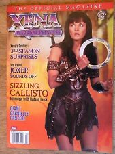 1998 XENA WARRIOR PRINCESS MAGAZINE TV SHOW PHOTOS GABRIELLE POSTER