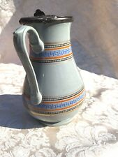 J1~ Antique Victorian Syrup Jug or Milk Pitcher w/ Greek Key Banding