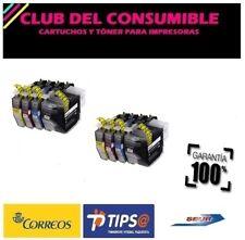 8 X CARTUCHOS COMPATIBLES LC3217 XL  BK/CY/MG/YL MFC J5330DW NO OEM BROTHER