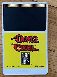 Devil's Crush (TurboGrafx-16, 1990) - HuCard / Cartridge Only, Tested!