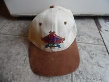 Old Milwaukee Lodge Beer Hat - White with Brown Bill