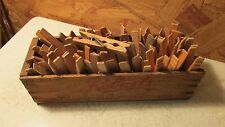 Antique Roberts Wood Cheese Box &  Wood Clothespins