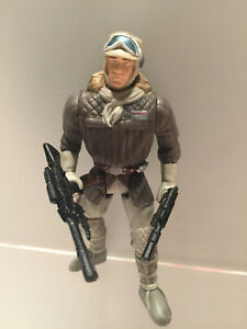 Star Wars - Han Solo in Hoth Gear - Loose Complete Kenner - POTF2