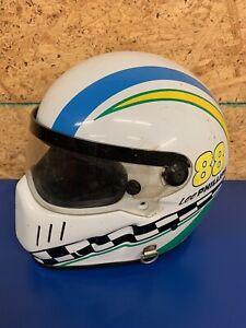 Vintage 90s Simpson Bandit Motorcycle Helmet cool rare vtg 7 3/8 Large L