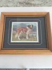 Wills'S Cigarettes Tabacco Card Dog Series No 17 Of 25 St Bernard 1987 Repro