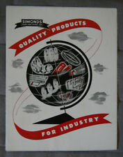 SIMONDS Saw and Steel Hardware Industry brochure 1955 - Canada - ST501001117
