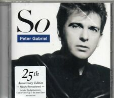 CD Peter GABRIELSo - 25TH ANNIVERARY ED REMASTERED  Don't give up  Sledgehammer