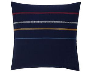 Sonia Rykiel Rue Garanciere Blue King Fitted Sheet Euro Shams Embroidered Stripe