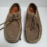 Clark's Originals Wallabee 78985 Suede Crepe Sole Desert Shoes Women's SZ 10