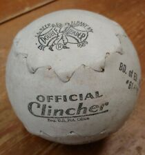 "Vintage Debeer Official Clincher 12"" Softball good condition"