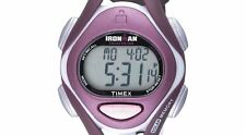 PRE-OWNED $59.95 Timex Womens Ironman Sleek Mid-Size Plum Resin Watch T5K007