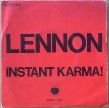 Scarce John Lennon & Yoko Ono Instant Karma & Who Has Seen the Wind?  French