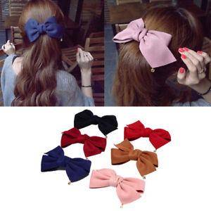 Hair Clip Hairpins Bow Hair Ornaments For Women Hair Accessories Korean DB