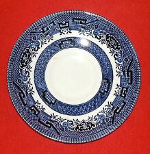 "Churchill England Blue Willow China - Saucer - 5 1/2"" Diameter"