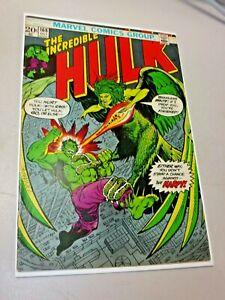 Incredible Hulk #168 1973 Marvel 1st Appearance HARPY KEY