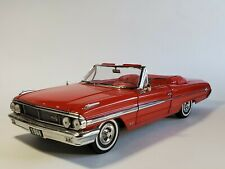 Sun Star 1964 Ford Galaxie 500 Convertible 1:18 Scale Diecast Model Car Red '64