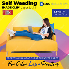 Image Clip Neenah Laser Light Heat Transfer Paper 85x11 100 Sheets