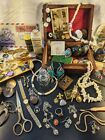 Jewelry+Box+Lot+Vintage+to+Now+Women%27s+Dresser+Silver+Antique+Estate+Cleanout+
