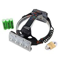 20000Lm 4X XM-L T6 LED Headlight Head Torch Fishing Running Light  Rechargeable