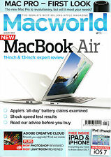 MACWORLD Magazine August 2013 MAC PRO MacBook Air iOS7 Adobe Creative Cloud @NEW
