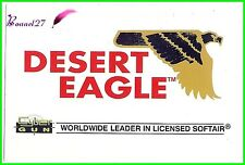 "Autocollant CYBER GUN Worldwide leader in licensed softair arme "" DESERT EAGLE """