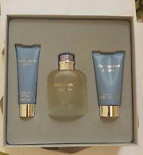 Dolce & Gabbana Light Blue Pour Homme EdT 125 ml + ASB 75 ml + SG 50 ml Gift Set