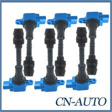 6Pcs Ignition Coil Pack Over Plug For Nissan Patrol GU 4.8L 2001-2007 TB48DE