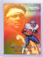 1999 Topps Gold Label Race To Black Payton Barry Sanders #R8 *63726
