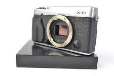 Fujifilm X Series X-E1 16.3MP DSLR Camera - Black Silver (Body Only) #J00115