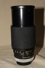 VIVITAR SERIES 1 KIRON 70-210mm 1:3.5 MACRO FOCUSING ZOOM CANON FD PARTS/REPAIR