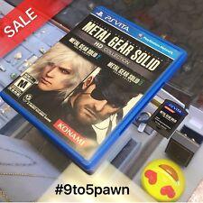 Metal Gear Solid HD Collection (Sony PlayStation Vita, 2012) PS VITA * FREE SHIP