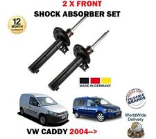 FOR VW CADDY MPV + VAN 2004-2016 NEW 2 X FRONT LEFT + RIGHT SHOCK ABSORBER SET