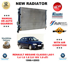 FOR RENAULT MEGANE CLASSIC LA0/1 Mk I 1.4 1.6 1.8 2.0 1.9 1996>2003 NEW RADIATOR