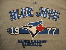 MLB Toronto Blue Jays Baseball Sportswear Since 1977 Fan Gray T Shirt Size 2XL