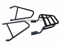 Royal Enfield Interceptor 650cc Luggage Rack With Pannier Mounting Kit Black