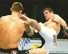 JIM MILLER SIGNED 8X10 PHOTO PROOF COA AUTOGRAPHED UFC FIGHTER