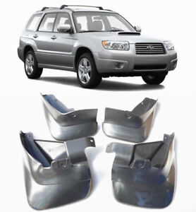Genuine OEM Front & Rear Splash Guards Mud Flaps FOR 2003-2008 Subaru Forester