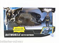 New In box Gift The Dark Knight Batman Action Figure + Batmobile Tumbler Car Toy