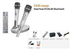 NEW 2017 karaoke Magic Sing 5145 TAGALOG ENGLISH SONG ET19K-BT 2 Wireless mic