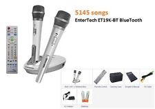 NEW 2017 EnterTech Magic Sing 5145 TAGALOG ENGLISH SONG ET19K-BT 2 Wireless mic