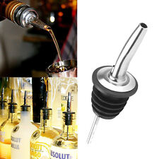 4pcs Stainless Steel Tapered Liquor Pourer Wine oil Bottle Pour Spout Stopper