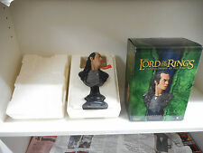 LORD ELROND-POLYSTONE BUST-SIDESHOW COLLECTIBLES-LORD OF THE RINGS-NUMERATO-T11